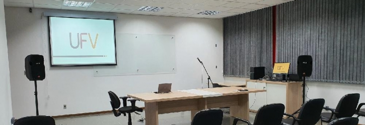 Sala de reuniões do DPF
